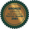 Bank of Ireland Start Up Award badge 2015