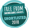 Free From Skincare Awards Badge 2018